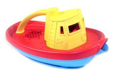 Буксир желтый Green Toys