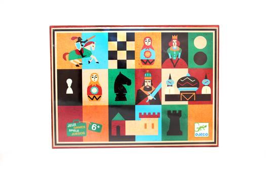 Шахматы и шашки DJECO