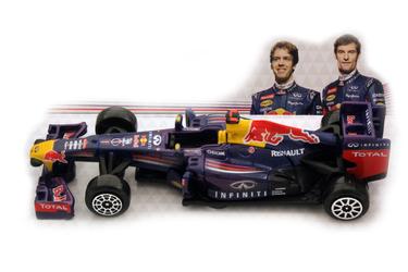 1:43 BB Машина ФОРМУЛА-1 Команда 2012 Red Bull D-C RB9