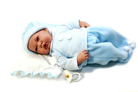 Кукла-младенец Викентий Munecas Antonio Juan