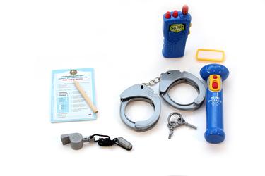 Набор полицейского, в чемодане Klein
