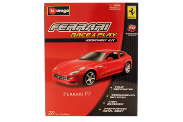 1:32 FER Машина СБОРКА Ferrari FF