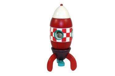 Конструктор магнитный Ракета Janod