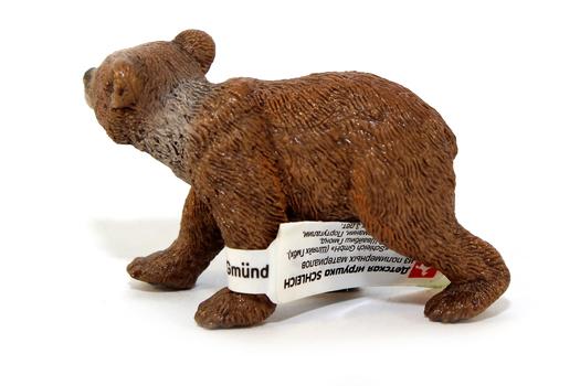 Медведь Гризли, детёныш SCHLEICH