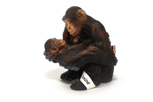 Шимпанзе, самка с детёнышем SCHLEICH