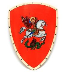 Щит расписной Георгий, Ратникъ