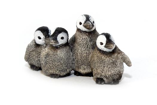 Королевские пингвины, птенцы SCHLEICH