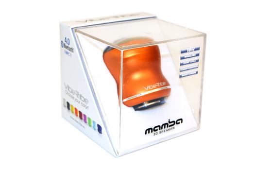 Bluetooth колонка Mamba Tango Orange