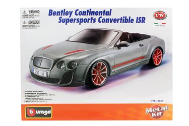 1:18 BB Машина СБОРКА BENTLEY Continental Supersports Convrtible ISR, Bburago