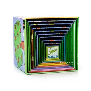 Кубики-пирамида Картинки DJECO