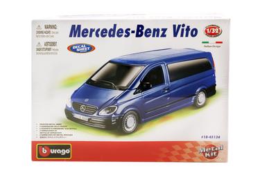 1:32 BB Машина СБОРКА Mercedes-Benz Vito