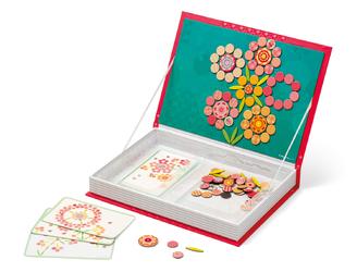 Магнитная игра Цветы Janod