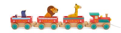 Каталка Поезд цирк Janod