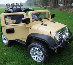 Электромобиль Jeep Wrangler Kids Kars