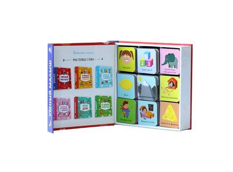9 книжек-кубиков. Умный малыш. Мои первые слова.