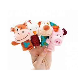 Пальчиковые игрушки Ферма Lilliputiens