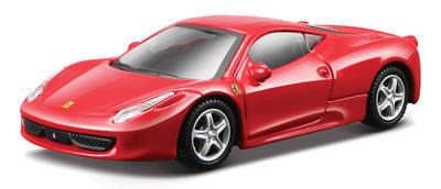 1:43 FER Машина СБОРКА Ferrari 458 Italia