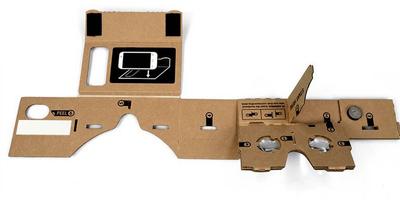 Google Cardboard VR картон SMALL
