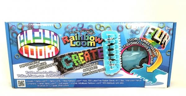 Набор для плетения Алфавит Rainbow Loom