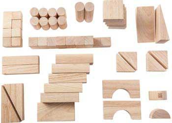 Набор кубиков PLAN TOYS