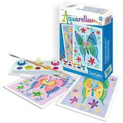 SentoSphere Акварельная раскраска Бабочки