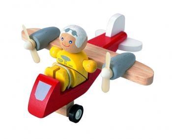Самолётик с пилотом PLAN TOYS