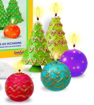 """Набор """"Праздничные свечи"""" SentoSphere"""