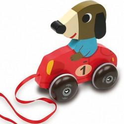Собачка-машина на колёсиках VILAC